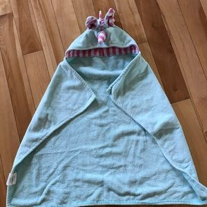 Other - Pottery barn unicorn towel